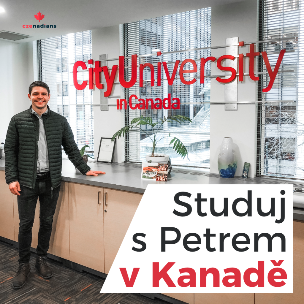 Studuj s Petrem ve Vancouveru v Kanadě na City University